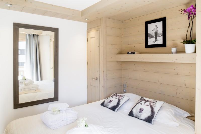 Courchevel 1650 Luxury Rental Appartment Ammonite Bedroom 3