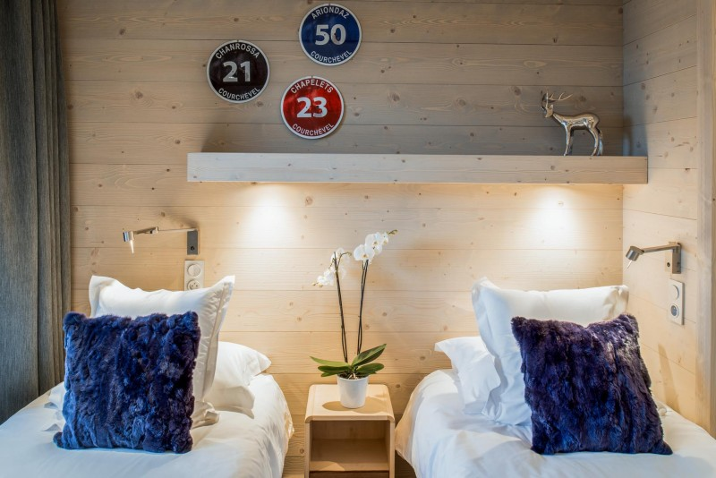 Courchevel 1650 Luxury Rental Appartment Amorile Bedroom 2