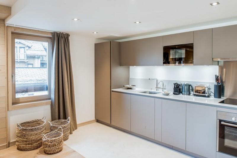 Courchevel 1650 Luxury Rental Appartment Amorile Kitchen 2