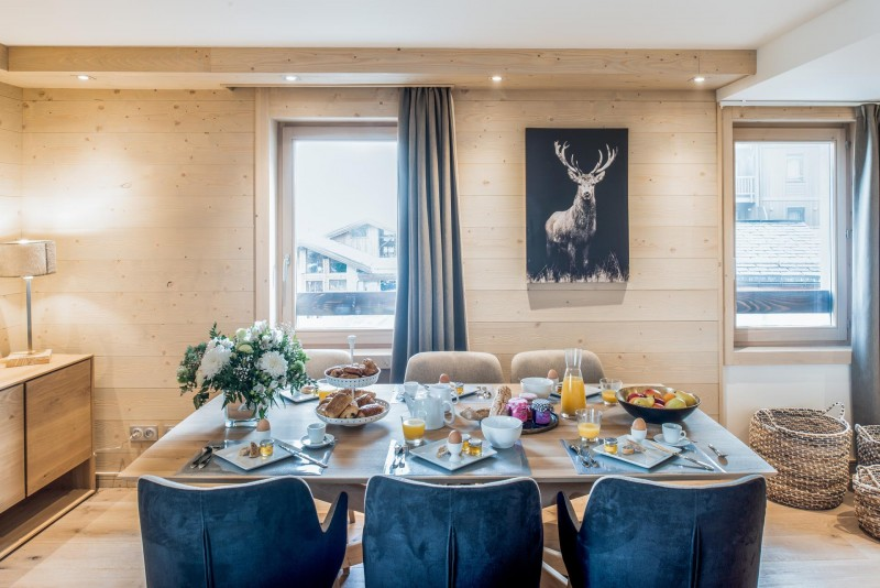 Courchevel 1650 Location Appartement Luxe Amorile Salle A Manger