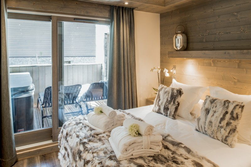 Courchevel 1650 Luxury Rental Appartment Amurile Bedroom 3
