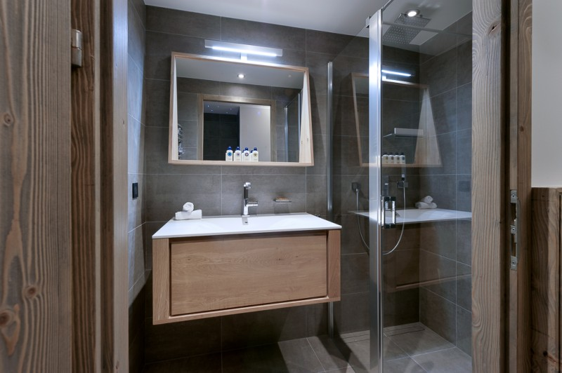 Courchevel 1650 Location Appartement Luxe Angelite Salle De Bain 3