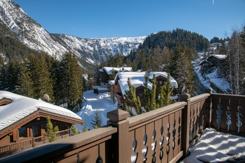 Courchevel 1650 Location Appartement Luxe Aurilite Balcon