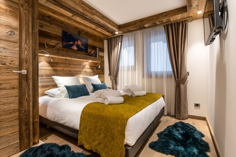 Courchevel 1650 Luxury Rental Appartment Aurilite Bedroom 3