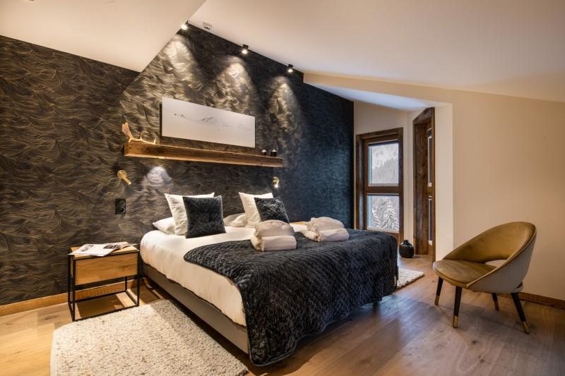 Courchevel 1650 Location Appartement Luxe Aurolite Chambre