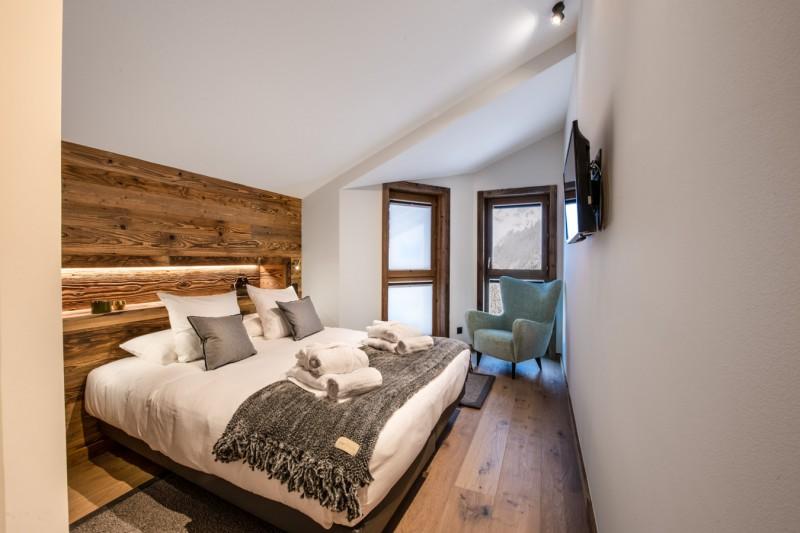 Courchevel 1650 Luxury Rental Appartment Aurolite Bedroom 3