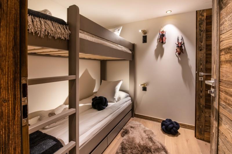 Courchevel 1650 Luxury Rental Appartment Aurolite Bedroom 5
