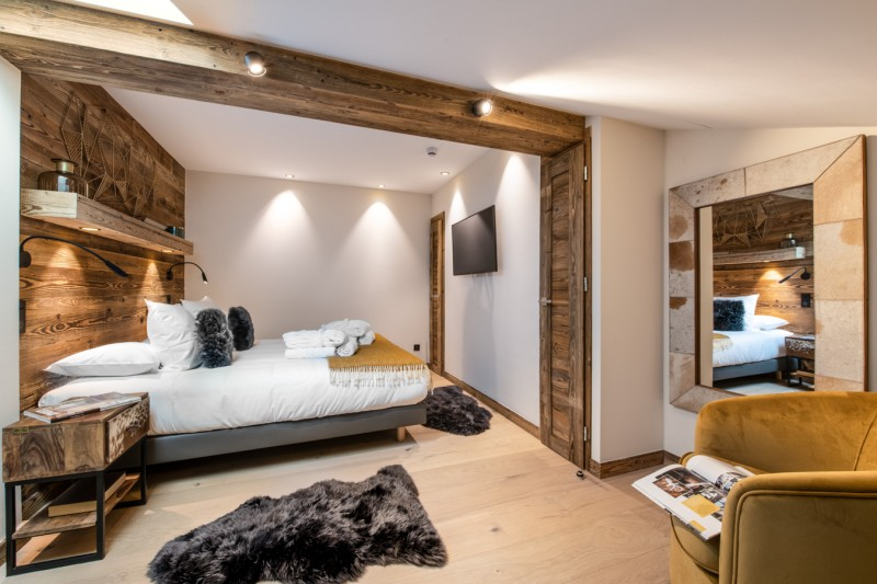 Courchevel 1650 Location Appartement Luxe Aurulite Chambre 3