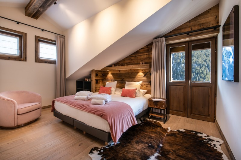 Courchevel 1650 Location Appartement Luxe Aurulite Chambre 4