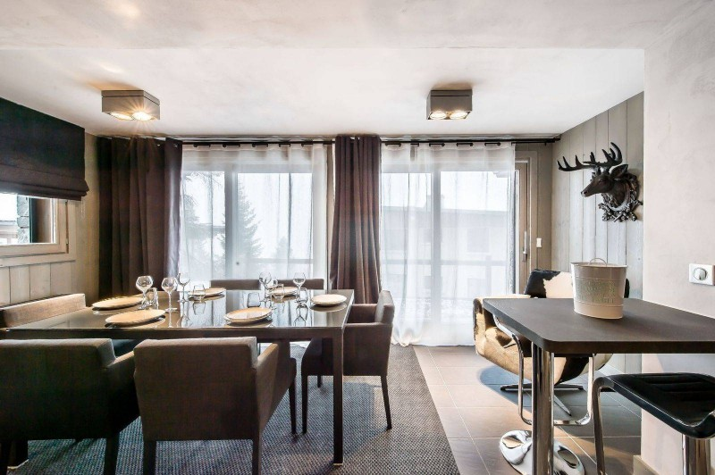 Courchevel 1650 Location Appartement Luxe Dalersi Salle A Manger 2