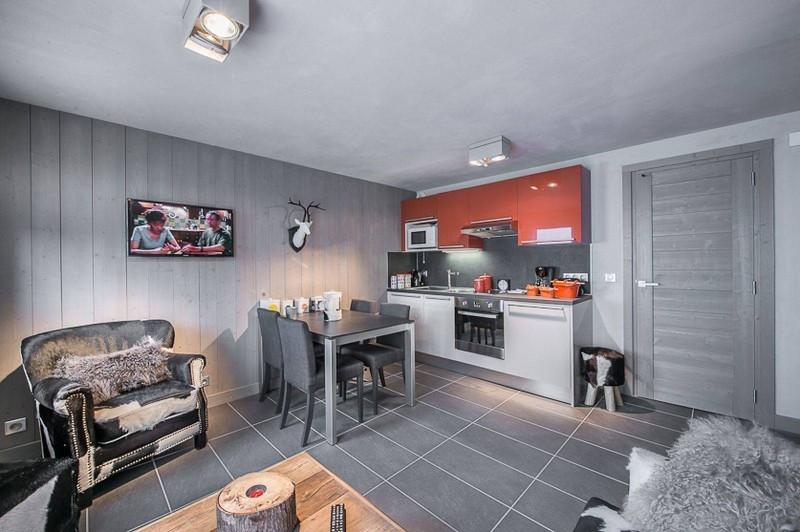 Courchevel 1650 Luxury Rental Appartment Doredo Living Room