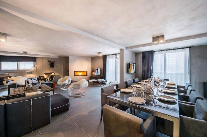 Courchevel 1650 Location Appartement Luxe Neustadelite Salle A Manger
