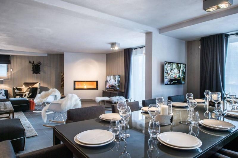 Courchevel 1650 Location Appartement Luxe Neustadelite Salle A Manger 3