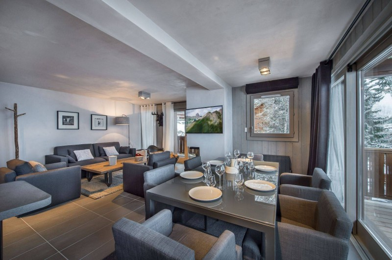 Courchevel 1650 Location Appartement Luxe Simeline Salle A Manger 2