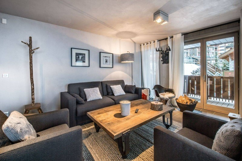 Courchevel 1650 Luxury Rental Appartment Simeline Living Room 3