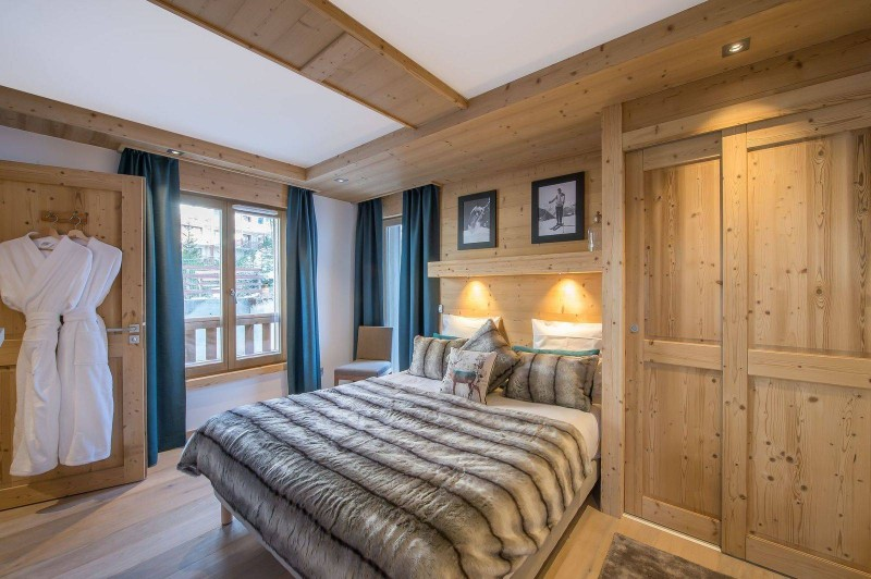 Courchevel 1650 Luxury Rental Appartment Temagamite Bedroom