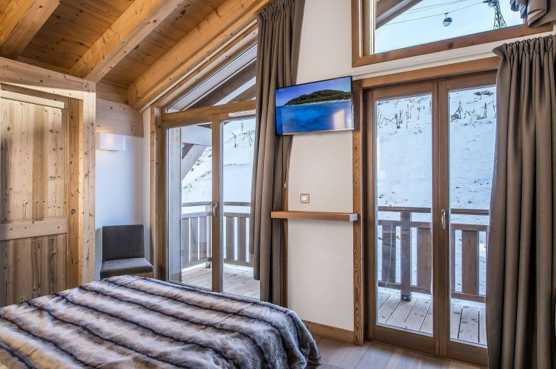 Courchevel 1650 Luxury Rental Appartment Temagamite Bedroom 3