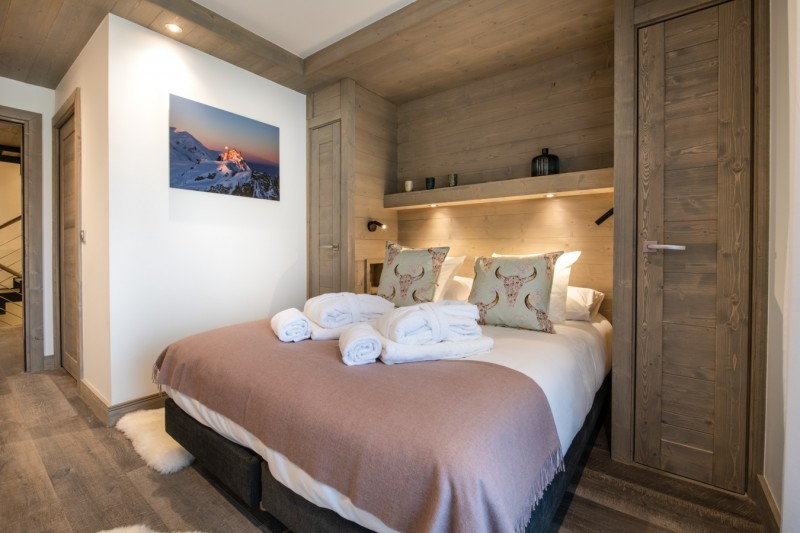 Courchevel 1650 Location Chalet Luxe Akarlonte Chambre