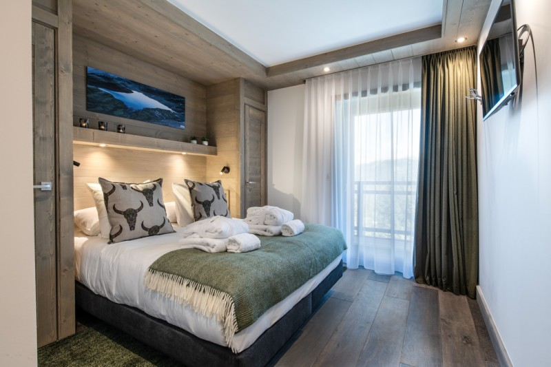 Courchevel 1650 Luxury Rental Chalet Akarlonte Bedroom 3