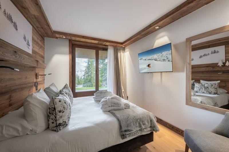 Courchevel 1650 Location Chalet Luxe Akurlonte Chambre 3