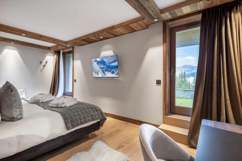 Courchevel 1650 Location Chalet Luxe Akurlonte Chambre 4