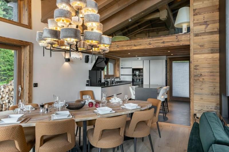 Courchevel 1650 Location Chalet Luxe Akurlonte Salle A Manger