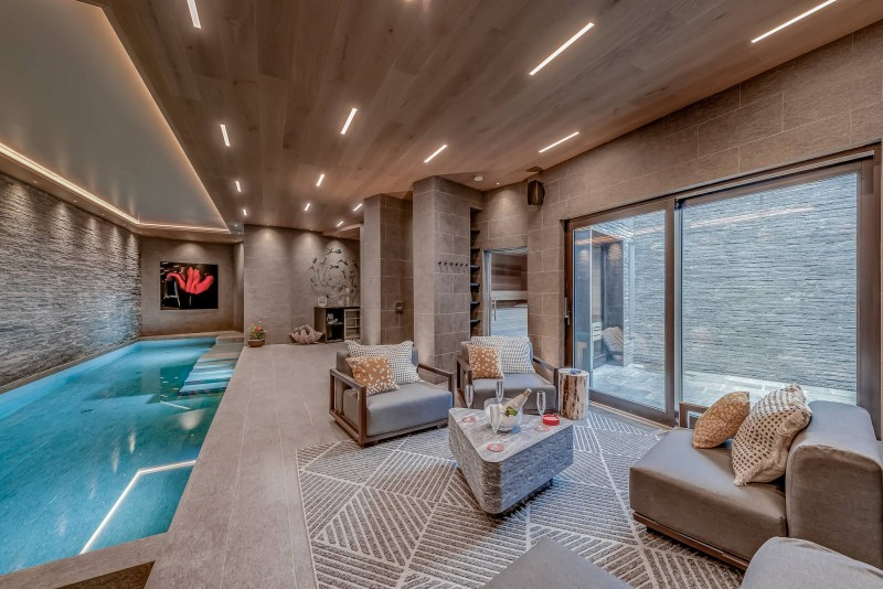 Courchevel 1650 Luxury Rental Chalet Elana Relaxing Area 2