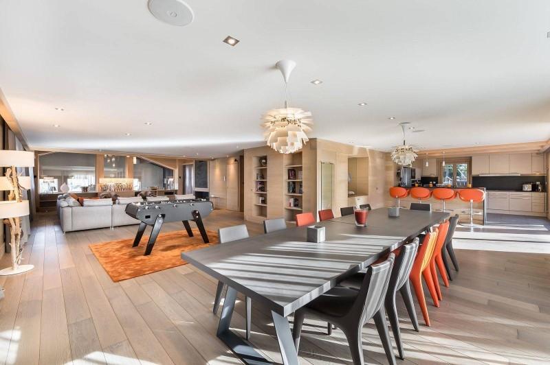 Courchevel 1650 Luxury Rental Chalet Nexilovite Dining Room