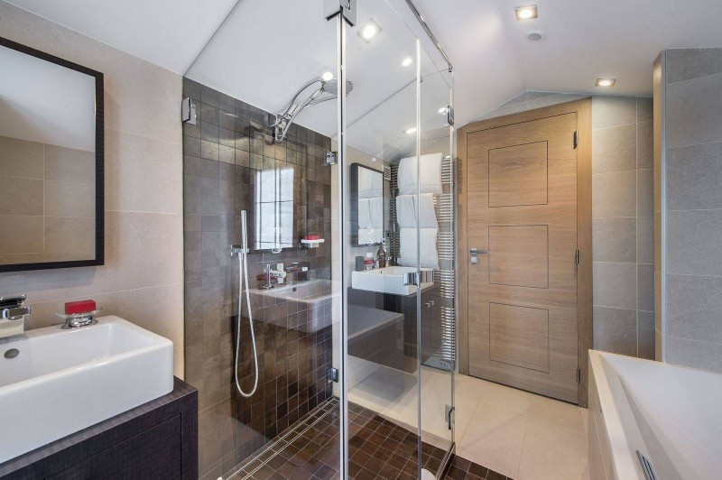 Courchevel 1650 Luxury Rental Chalet Nexilovite Bathroom
