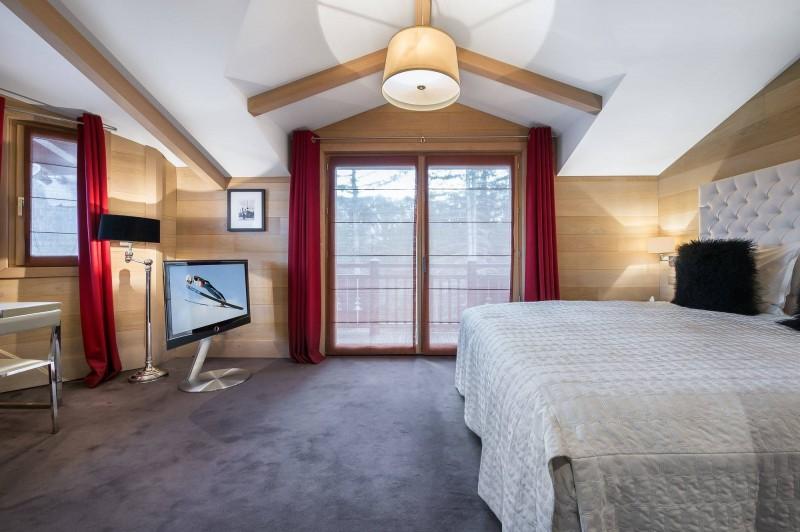 Courchevel 1650 Luxury Rental Chalet Nexiluvite Bedroom 2