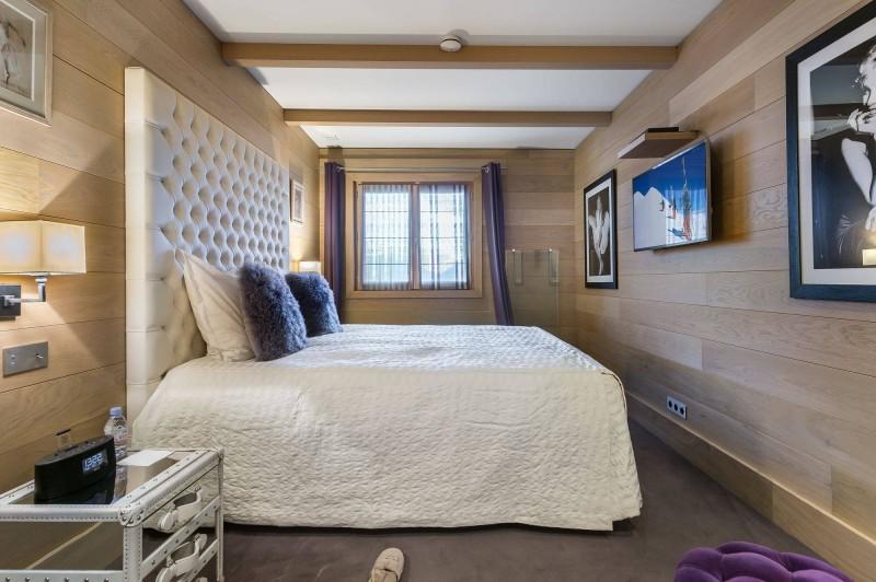 Courchevel 1650 Luxury Rental Chalet Nexiluvite Bedroom 4