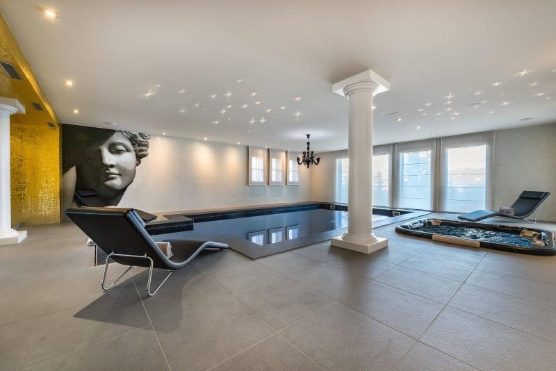 Courchevel 1650 Luxury Rental Chalet Nexiluvite Pool