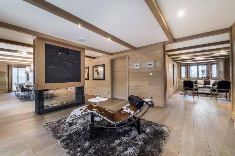 Courchevel 1650 Luxury Rental Chalet Nexiluvite Living Room