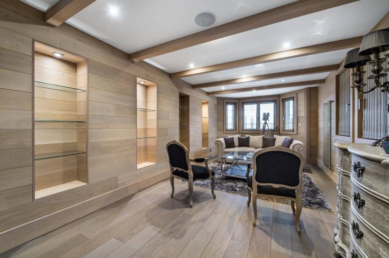 Courchevel 1650 Luxury Rental Chalet Nexiluvite Living Room 2