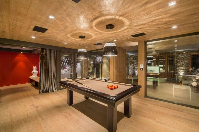 Courchevel 1650 Location Chalet Luxe Nezilovite Billard