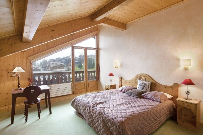 Courchevel 1850 Location Appartement Luxe Albatre Chambre