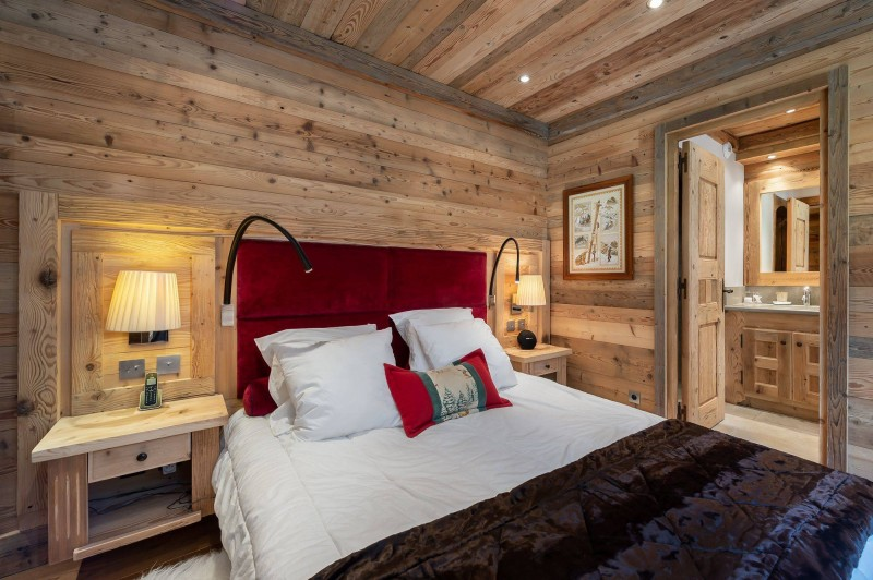 Courchevel 1850 Luxury Rental Appartment Bapilite Bedroom 2
