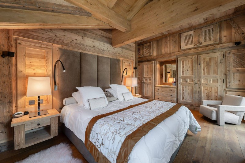 Courchevel 1850 Luxury Rental Appartment Bapilite Bedroom 3