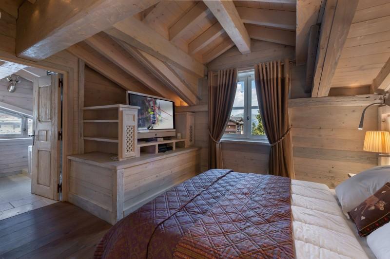 Courchevel 1850 Luxury Rental Appartment Bapilite Bedroom 5