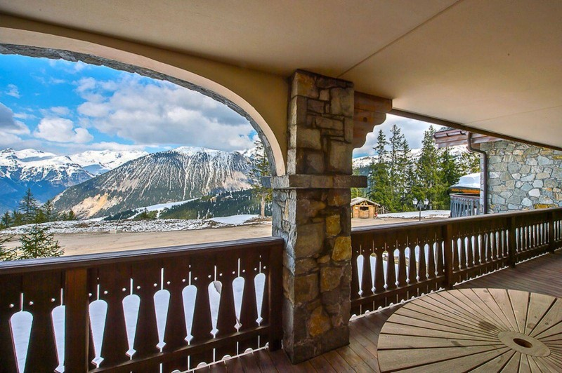 Courchevel 1850 Location Appartement Luxe Carrolate Balcon