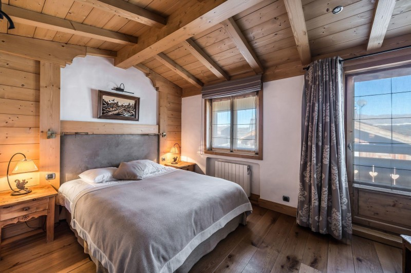 Courchevel 1850 Luxury Rental Appartment Cetanite Bedroom 3