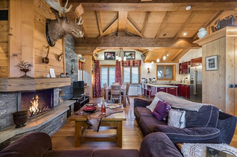 Courchevel 1850 Luxury Rental Appartment Cetanite Living Room 3