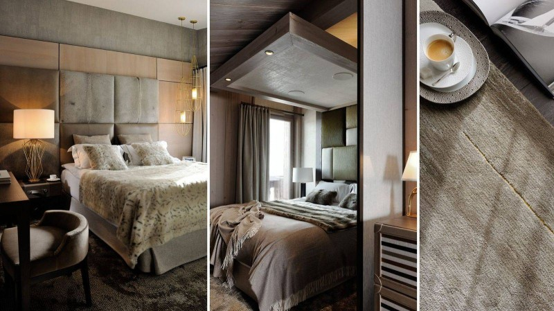 Courchevel 1850 Luxury Rental Appartment Dalpina Bedroom 3