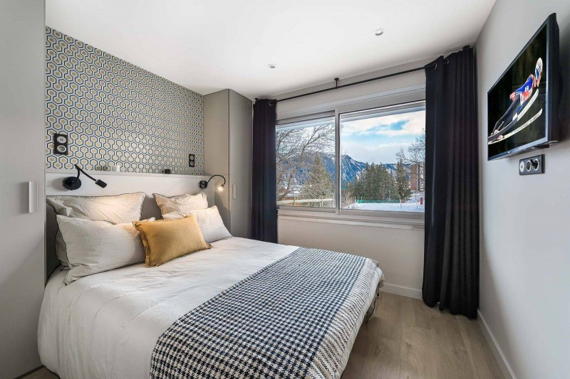 Courchevel 1850 Luxury Rental Appartment Fraisia Bedroom