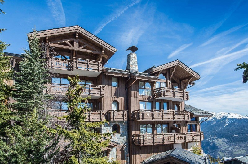 Courchevel 1850 Luxury Rental Appartment Mereli Exterior