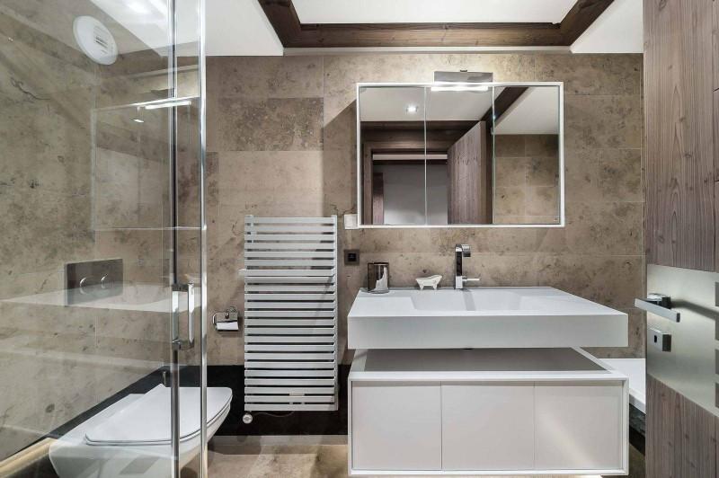 Courchevel 1850 Luxury Rental Appartment Visix Bathroom 2