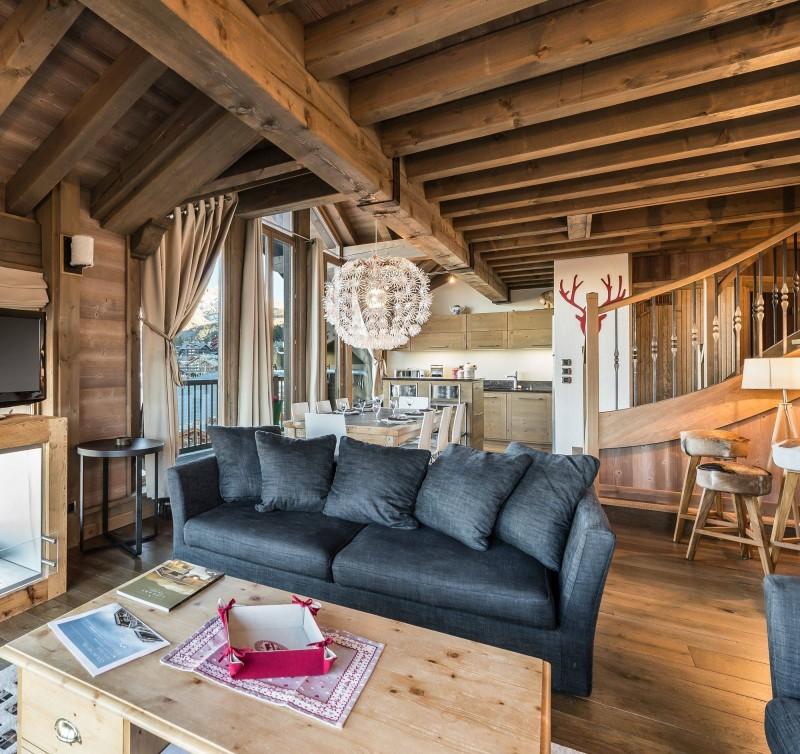 Courchevel 1850 Location Appartement Luxe Viziri Séjour