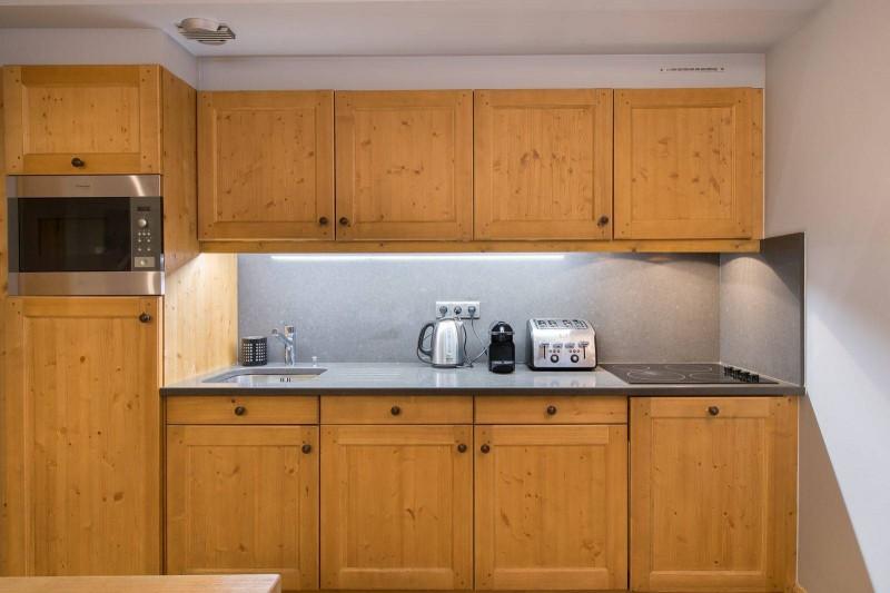Courchevel 1850 Location Appartement Luxe Vizrine Cuisine