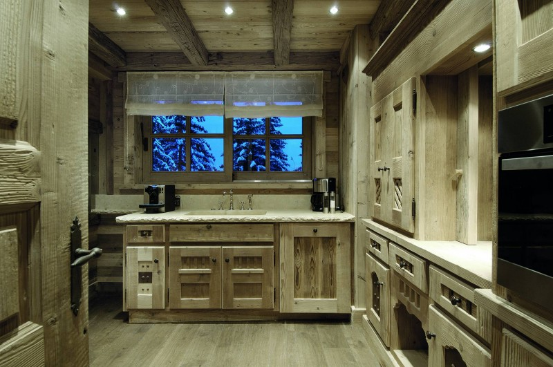 Courchevel 1850 Location Chalet Luxe Bepalite Cuisine