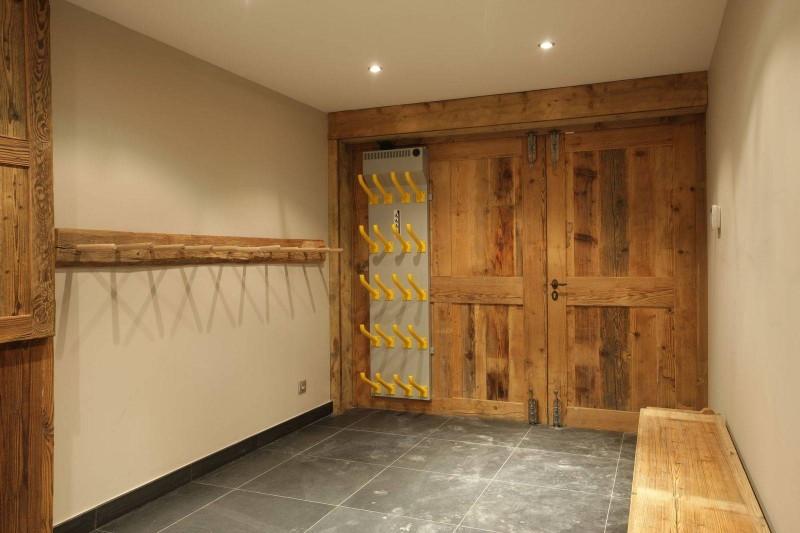 Courchevel 1850 Luxury Rental Chalet Cesarolite Ski Room